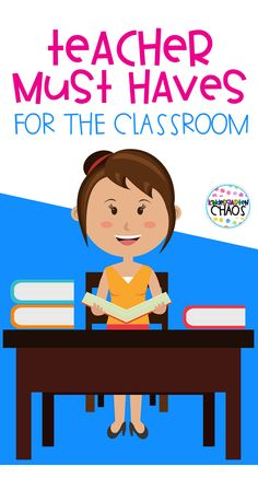 Teacher Must Haves For The Classroom. Everything I love about my classroom and favorite products!