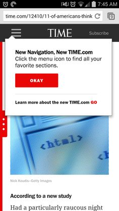 Where can I find the new navigation?