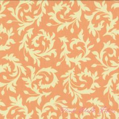 Heather Bailey Bijoux Swirly Buds Peach