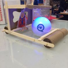 The Flintstones - Sphero-powered Flintstone car