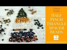Video! HALF PINCH Triangle Spacer Czech Glass Beads - New Arrivals     #dawanda #dawanda_de #dawandashop #etsy #etsyshop #etsystore #etsyfinds #etsyseller #amazon #amazondeals #alittlemercerie #pinch #triangle #trianglejewelry #triangledesign #spacer #spacerbeads #czechbeads #glassbeads #czechglassbeads #czechglassjewelry