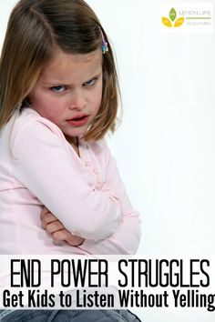 End Power Struggles Get Kids to Listen without Yelling | Such great information in the FREE Webinar!
