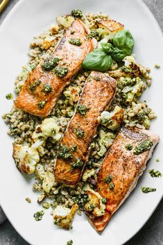 Salmon Recipes, Fish Recipes, Seafood Recipes, Dinner Recipes, Cooking Recipes, Healthy Recipes, 5 Ingredient Dinners, All You Need Is, Clean Eating