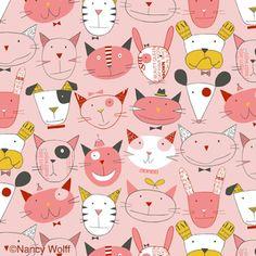 Pattern by Nancy Wolff