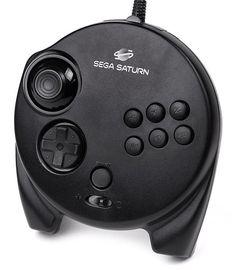 Sega Saturn 3D Controller - Best Controller In All History!!