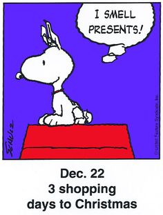 Dec. 22 - This is a classic countdown panel from 1998