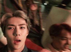 Gif 4 Lotte world Sehun