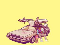 Decided to touch this up some. Eraser Head McFly #backtothefuture #martymcfly #mcfly #illustration #vector #art #artist #hoverboard #nikeairmags #digitalart #delorean #hiphop #oldschool #hightopfade #melissacookart #photoshop #adobe