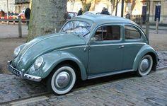 1957 VW Beetle Oval WIndow QUEEN SQUARE 2013  #vw_vintage_morat Volkswagen