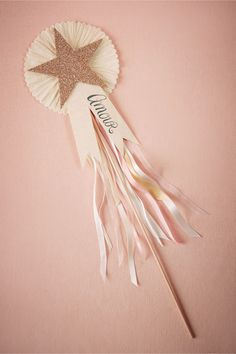 Shooting Star Wand for the flower girl from BHLDN