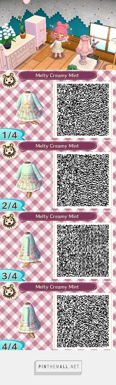 This is the third time I have released Rozalin's dress for Animal Crossing New Leaf. Animal Crossing New Leaf: Rozalin QR Code Ed) Animal Crossing New Leaf Qr Codes, Animal Crossing Qr Codes Clothes, Pokemon, Pikachu, Animal Games, My Animal, Motif Acnl, Ac New Leaf, Motifs Animal