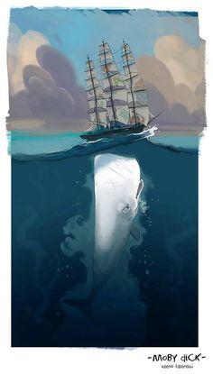 """Moby Dick"" by Valerio Fabbretti"
