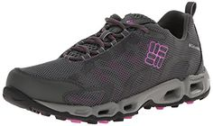Columbia Women's Ventastic Trail Shoe,Grill/Foxglove,8.5 B US *** You can get additional details at the image link.