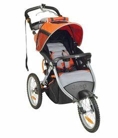Jeep Traveler Tandem Baby Stroller