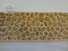 Frilly and Funkie: Saturday StepXStep - Tim Holtz Alterations Brick Wall and Cobblestone