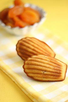 Recipe: Madeleine C'bon - Pierre Hermé's Apricot Caramel Madeleine