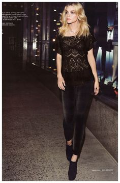 @Jessica Stam by Max Abadian for Saks Fifth Avenue #fashion
