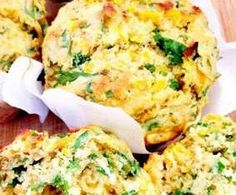 Recipe Savoury Vegetable Muffins by Candycane, learn to make this recipe easily in your kitchen machine and discover other Thermomix recipes in Baking - savoury. Savoury Vegetable Muffins, Savory Scones, Savory Muffins, Savoury Dishes, Savoury Recipes, Lunch Box Recipes, Lunch Ideas, Cooking Recipes, Healthy Recipes