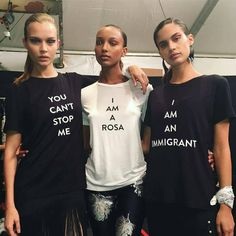 From feminism to immigration, an increasing number of us are taking to social media and the streets to have our opinions heard. And with designers from Dior to Dorothee Schumacher sending politically-motivated slogan tees down the runway, fashion is getting in on the act – so it's no surprise high street stores are cottoning on to the trend.
