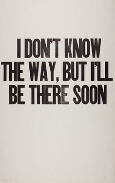 the way.