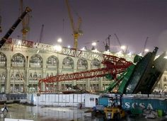 Saudi court throws out Mecca crane collapse case.  #cranepedia #meccaaccident
