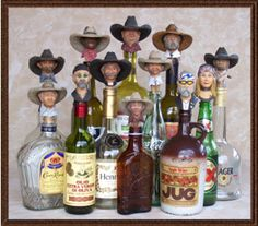 Premium Quality Cowboy Bottle Stoppers - Western Apparel