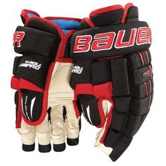 Bauer Pro 4-Roll Senior Hockey Gloves - Black - 13 Inch by Bauer. $109.95. Bauer Pro 4-Roll Senior Hockey Gloves 4-Roll Pro FeaturesPROTECTIONFoams - EPP foamThumb - Patented 2-pice Free Flex Lock ThumbShell - Pro nylonFIT / MOBILITYOverall Fit - Traditional volume fitFingers - 2-piece segmented fingersPalm - Soft Clarino ivory meshLiner - Thermo MaxMaintaining the traditional fit characteristics that have made it successful over the years, Bauer's 4-Roll glove has gone ...