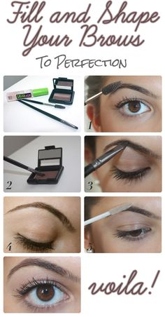 Eyebrow Obsessed: How To Fill In And Shape Your Brows
