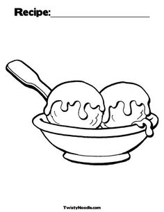 Ice Cream coloring page to print and color Coloring Pages For