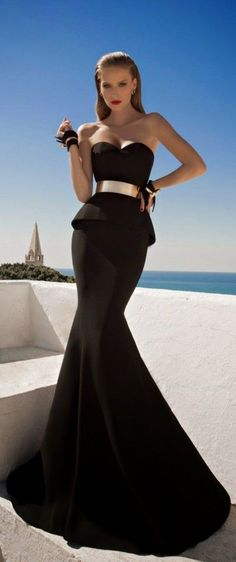 MOONSTRUCK- A Breathtaking Collection Of Evening Dresses By Galia Lahav (have to say the model looks more like a Photoshopped barbie then a human.)