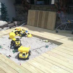Trex Bench With Planter Box End Backyard Ideas