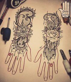 Just finished decorating these lovely hands #handtattoo #tattooideas #inked #tattoodesign #inkedgirls #tattooedgirls #menditattoo #lotustattoo #lotus #lacetattoo #femininetattoo #rosetattoo #rose #flowertattoo #forearmtattoo #pretty #mandala #mandalatattoo #mandaladesign #mendi #dotworktattoo #newquay #cornwall #fourfingers #tattoo #fingertattoos #art #atlanticcoasttattoo #tattoodesign