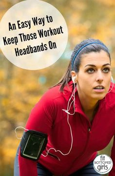 Can't get workout headbands to stay on your head? An easy trick to fix that forever!