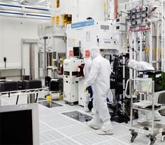 The Clean Room of Applied Materials\' Maydan Technology Center is considered as a state-of-the-art construction, the