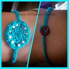 The Yarn Box - A Crochet Pattern Directory Cute Jewelry, Body Jewelry, Women Jewelry, Fashion Jewelry, Jewelry Sets, Jewelry Making, Coin Pendant Necklace, Shell Pendant, Ankle Bracelets