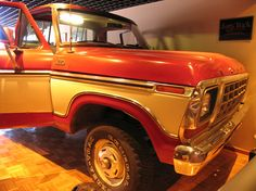 Sam Waltons Truck | Sam's famous Ford truck. Sam drove this truck even in his wealthy ...