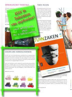 Yes! KIXX staat in het blad Tuinzaken. Dit keer met onze Color Line www.kixx-safety.nl