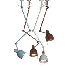 til biblioteket? PJ taklamper fra Örsjö belysning