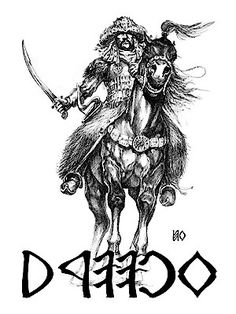 Koppány póló - Fehér Norse Tattoo, Viking Tattoos, Shoulder Armor Tattoo, Empire Tattoo, Warrior Tattoos, Military Tattoos, Geometric Tattoo Arm, Black And Grey Tattoos, Tattoo Black