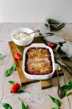Recette de cannelloni ricotta épinard sauce tomate #Recette #cannelloni #ricotta #épinard #saucetomate Sauce Tomate, Mashed Potatoes, French Toast, Veggies, Gluten, Tasty, Bread, Breakfast, Ethnic Recipes