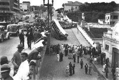 BH - Viaduto Santa Tereza, Acidente com bonde, em 1937