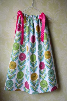 Easiest Pillowcase Dress Ever - Sew Like My Mom