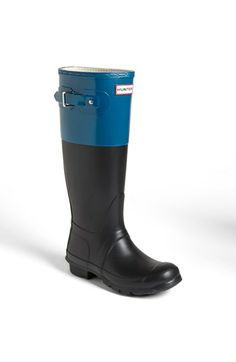 Hunter 'Original Colorblock' Rain Boot (Women) available at #Nordstrom