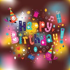 Tarjeta del feliz cumpleaños Stock Vector                                      …  Tarjeta del feliz cumpleaños Stock Vector                                                                                                                                                      Más Tarjeta del fe...