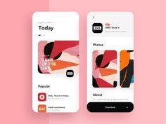 App Store Design Concept - - Hi guys, It's been a long time since the last one. I am excited to share the app design I've been working on, today with you. I hope you'll enjoy it. Press L to show some love. Web Design, App Ui Design, User Interface Design, Store Design, Design Layouts, Flat Design, App Store, Ui Design Mobile, App Design Inspiration