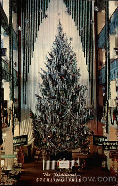 Famous Sterling Linder Christmas Tree Cleveland Ohio