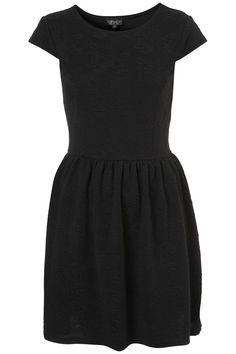 Floral Jacquard Flippy Dress / Top Shop