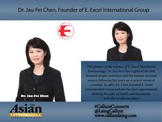 Dr. Jau-Fei Chen, Founder of E. Excel International Group