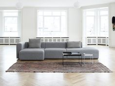 HAY Mags Modular Sofa designed by HAY studio. HAY Mags Modular Sofa is an extremely well-priced modular sofa that gives equally high priority to all the key components of a sofa design which can't be seen - suspension, composition of the foam Furniture Design, Hay Mags Sofa, Modular Sofa, Sofa Design, Sofa, Furniture, Interior, Home Decor, Contemporary Furniture