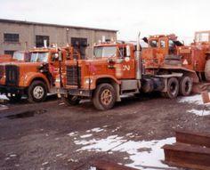 CN maintenance vehicles